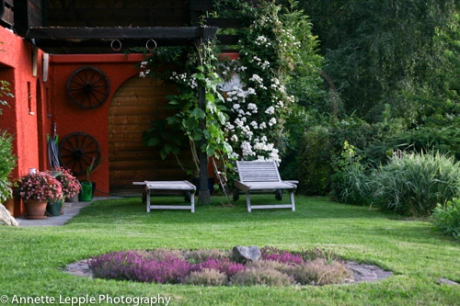 Unser Garten im Sommer
